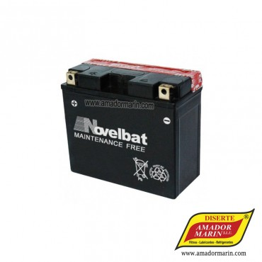 Batería Novelbat YTX12-BS
