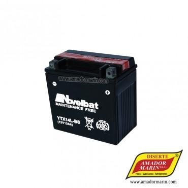 Batería Novelbat YTX14L-BS