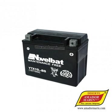 Batería Novelbat YTX15L-BS