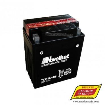 Batería Novelbat YTX14AH-BS