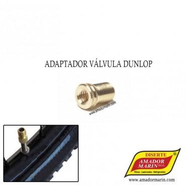 Adaptador Válvula Dunlop - Michelin