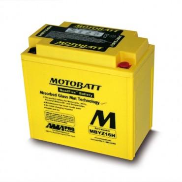 Batería Motobatt MBYZ16H