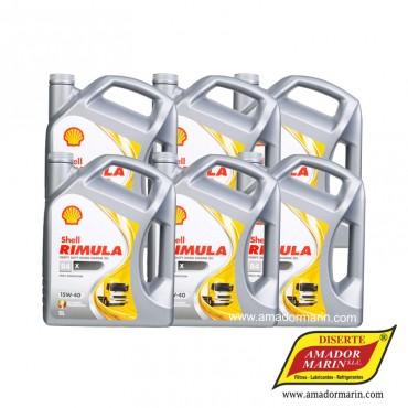 Shell Rimula R4 X 15W40 5l...