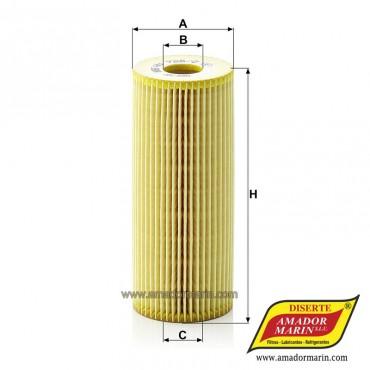 Filtro de Aceite HU 726/2 X...