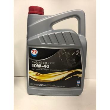 77 Motor Oil 10W40 SCR 5Lt
