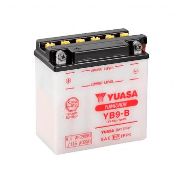Batería Moto Yuasa YB9-B 12V 9Ah