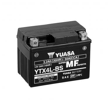 Batería Moto Yuasa YTX4L-BS...