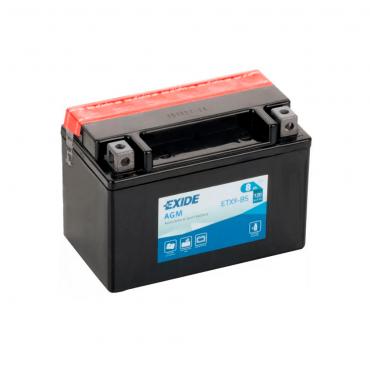 Batería Moto Exide ETX9-BS 12V 8Ah