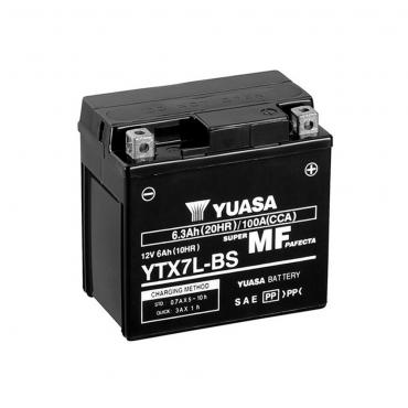 Batería Moto Yuasa YTX7L-BS