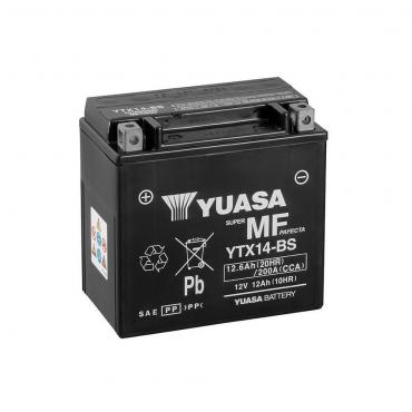 Batería Moto Yuasa YTX14-BS