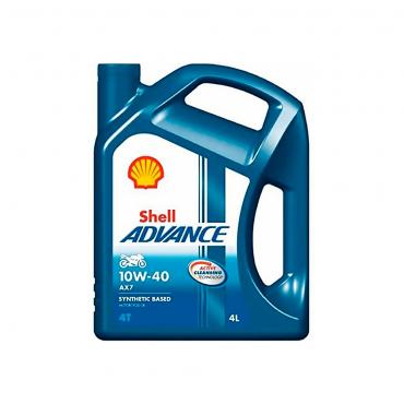 Shell Advance 4T AX7 10W40 4L