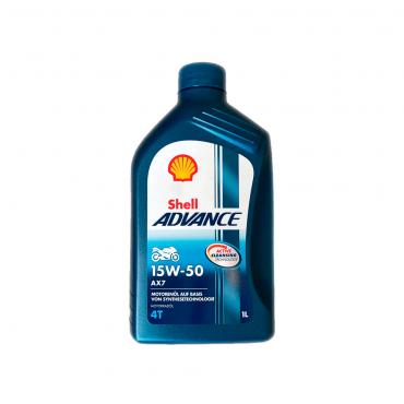 Shell Advance 4T AX7 15W50 1L
