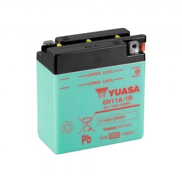 Batería Yuasa 6N11A-1B