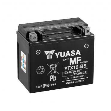 Bateria Moto Yuasa YTX12-BS