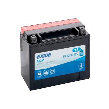Batería Exide ETX20H-BS 12V 18AH