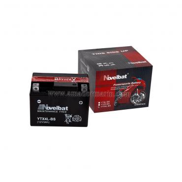 Batería Moto Novelbat YTX4L-BS 12V