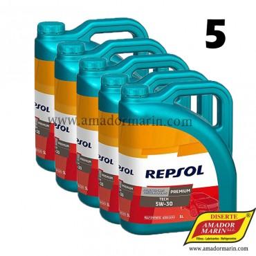 Repsol Premium Tech 5W30 5x5l 25 litros