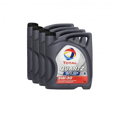 TOTAL Quartz Ineo ECS 5W30 Pack 4