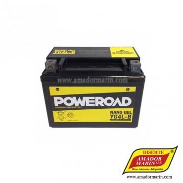 Batería Poweroad YB4L-B
